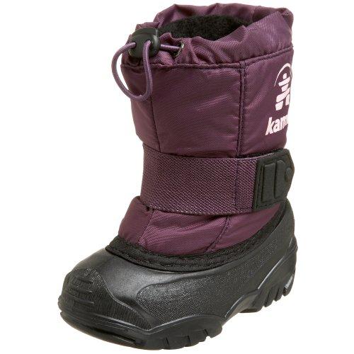 Kamik Tickle NK9341 - Botas de nieve infantiles Morado (Violett (Plum))