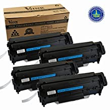 V4INK® 4 Pack Compatible Replacement for HP Q2612A (HP 12A) Toner Cartridge for use with HP LaserJet 1010 HP LaserJet 1012 HP LaserJet 1015 HP LaserJet 1018 HP LaserJet 1020 HP LaserJet 1022 HP LaserJet 3020 HP LaserJet 3030 HP LaserJet 3050 HP LaserJet 3052 HP LaserJet 3055 Printers