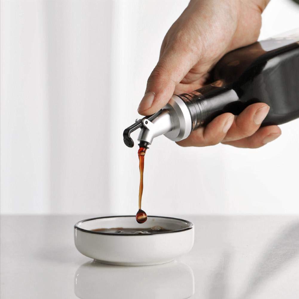 RoseSummer Olive Oil Sprayer Liquor Dispenser Wine Pourers Flip Beer Bottle Cap Stopper Tap