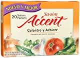 Sa-son Accent Seasoning with Culantro y Achiote, 20 Packets (Pack of 18)