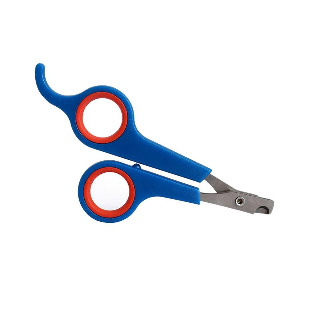 URIJK Tijeras para mascotas (perro, gato, conejo, pájaro, cobaya) cortaúñas, cortaúñas, fácil de usar