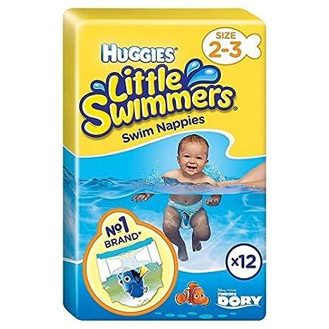 Huggies Little Swimmers Tamaño 2-3 12 por paquete