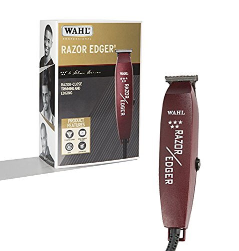 Detailed Edging (Wahl Professional 5-Star Razor Edger #8051 – Great for Barbers and Stylists – Razor Close Trimming and Edging – No Heat Build Up – Strong Electromagnetic Motor – Accessories Included)