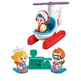 Fisher Price Bubble Guppies Helicopter Check-Up Set