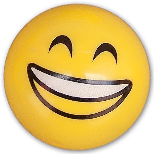 Tischflitzer Lachgesicht Smile 2 cm mit Friktionsantrieb Rückzug Mitgebsel Spielzeug