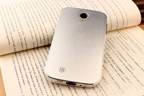 Tonsee(TM) 1PC Creative Aluminum Ultra-thin Metal Case Cover For Samsung Galaxy S4 IV i9500 (Silver)