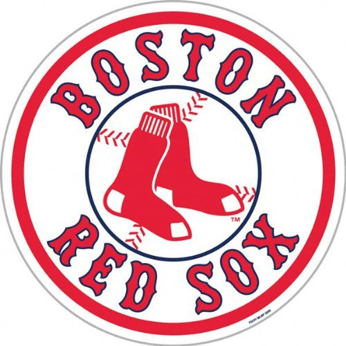 MLB Boston Red Sox 12-Inch Vinyl Magnet ()