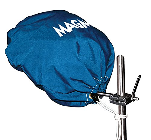 Pacific Blue Sunbrella (Magma Products, A10-191PB Cover (Pacific Blue), Sunbrella, Marine Kettle Grill Original Size)