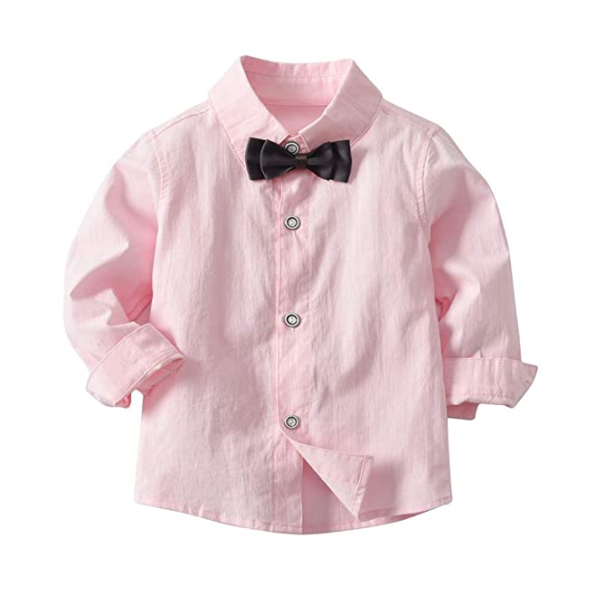 YanHoo 4PC niño bebé Bowtie Gentleman Chaleco Camiseta ...