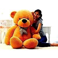 AVSHUB Hugable Stuffed Spongy Cute Soft Teddy Bear,Brown (Size6 Feet)