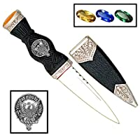 Johnston (Caskieben) Scottish Clan Crest Sgian Dubh