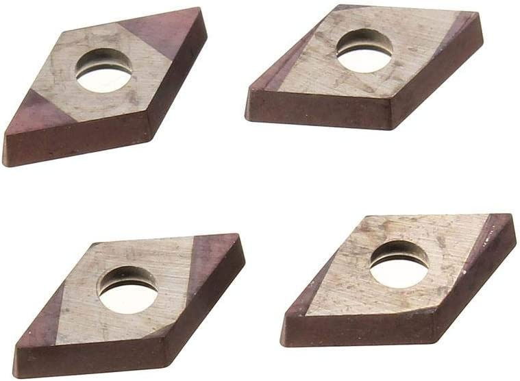 Indexable Insert Lathe Turning Tool Holder 16X100mm with 10 Inserts WWLNR1616H08 /& WNMG0804 Inserts