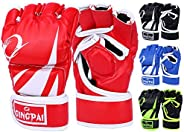 ENZHE MMA Gloves Men Women,UFC,Kickboxing,Sparring,Punching Heavy Bag Gloves for Training