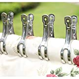 Coideal Beach Towel Clips Clamps Stainless Steel 10