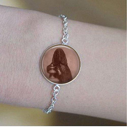 stap Victorian Mourning Shroud - Seance - Spooky Jewelry - Goth bracelets - Death - Burka -