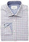 Ted Baker Men's Welsh Slim Fit Dress Shirt, Pink, 16.5'' Neck 32-33'' Sleeve