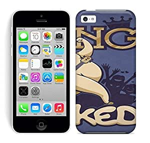 Best Power(Tm) HD Colorful Painted Watercolor The King Is Naked Hard Phone Case For Iphone 5C