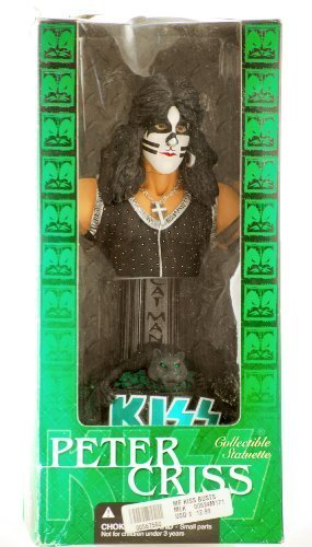 KISS - 2002 - McFarlane - KISS Collectible Statuette Bust - Peter Criss : The Catman / Drums & Vocals - RARE - Out of Production - New - Limited - Statuette Kiss