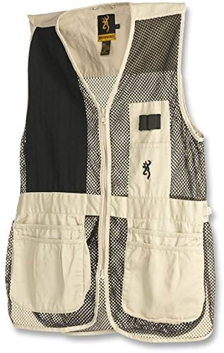 Browning Trapper Creek Vest, Sand/Black, (Medium Trapper)