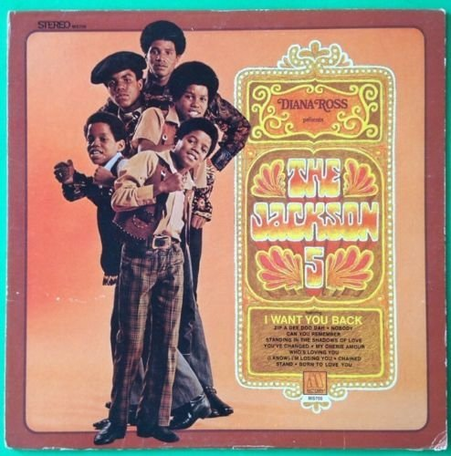 JACKSON 5 Diana Ross Presents The Jackson 5 LP Vinyl VG+ Cover VG 1969 MS 700