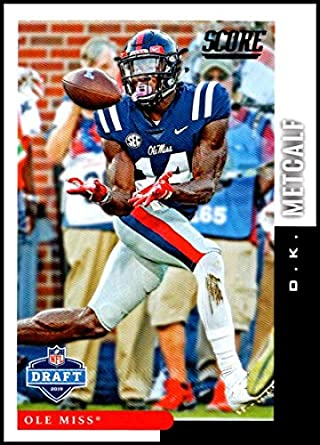wholesale dealer a3b87 545a7 Amazon.com: Football NFL 2019 Score NFL Draft #15 D.K. ...