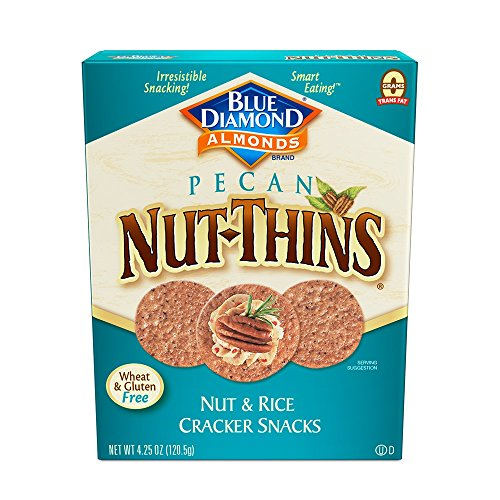 Almond Thins (Blue Diamond Almonds Nut-Thins Cracker Crisps, Pecan 4.25 Ounce)