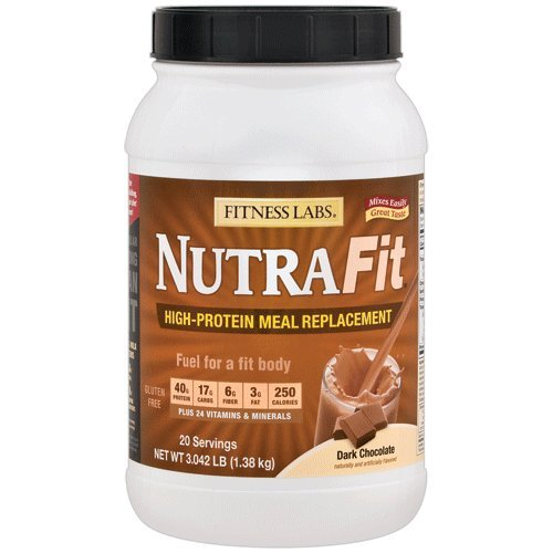 Cheap Fitness Labs NutraFit High-Protein Meal Replacement (Dark Chocolate, 3 Pounds)