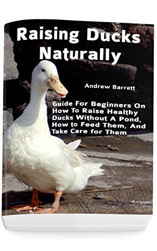 Raising Ducks Naturally: Guide For Beginners On How To Raise Healthy Ducks Without A Pond, How to Feed Them, And Take Care for Them by [Barrett, Andrew]