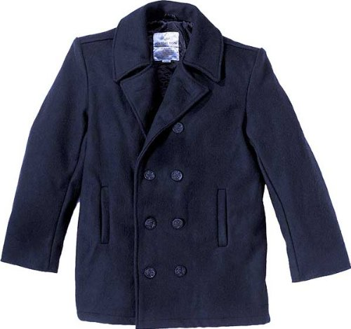 Navy Blue US Navy Sailor Winter Peacoat (Wool) 7270 Size X-Large