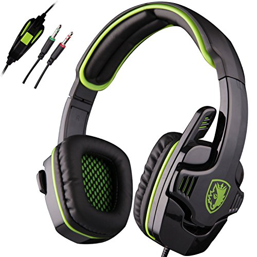 SADES Stereo Gaming Headset Microphone