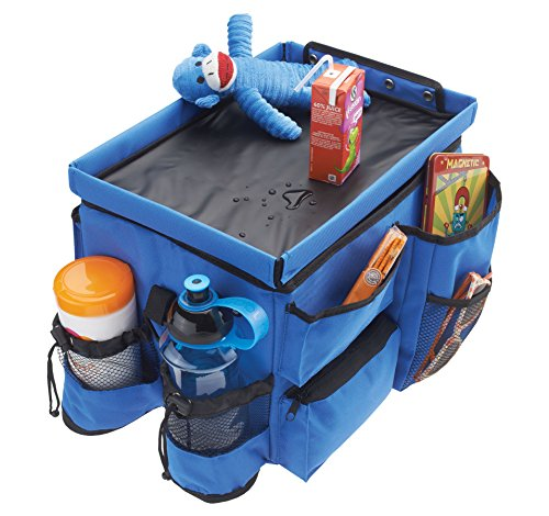High Road Kids Food 'n Fun Car Seat Organizer with Cooler and Snack Tray ()