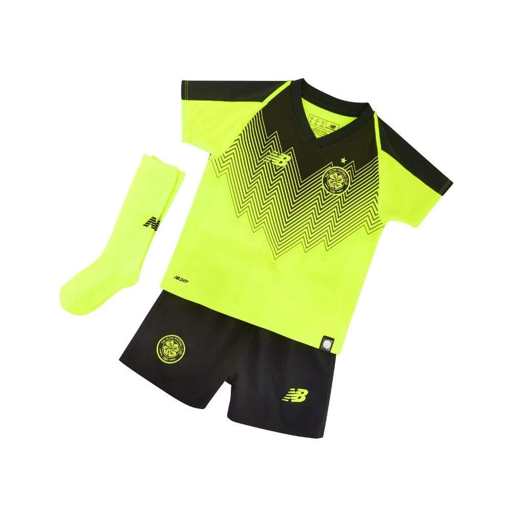 New Balance 2018-2019 Celtic Third Little Boys Mini Kit: Amazon.es ...