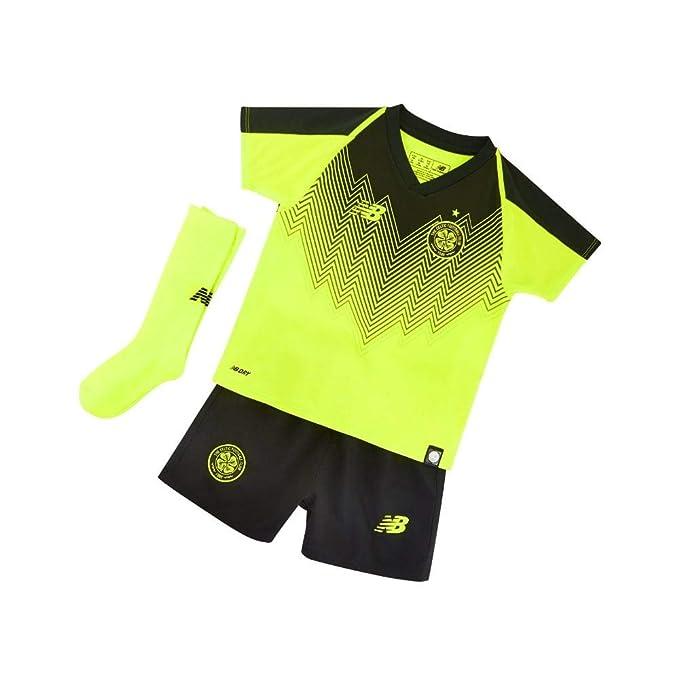 dc4473a41 Celtic FC 18 19 3rd Mini Kids Football Kit - HBK  Amazon.co.uk  Clothing