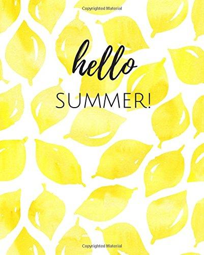 atercolor Notebook (Summer Spades)