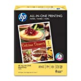 HP Everyday Papers HP All-in-One Printing Paper, 22-Pound, 97 Bright, 8.5 by 11, 500 Sheets/1 Ream (207010)