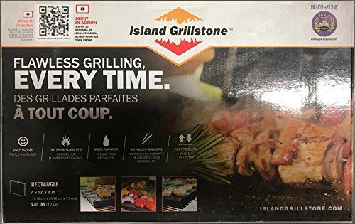 Rectangle Island Grillstone ()