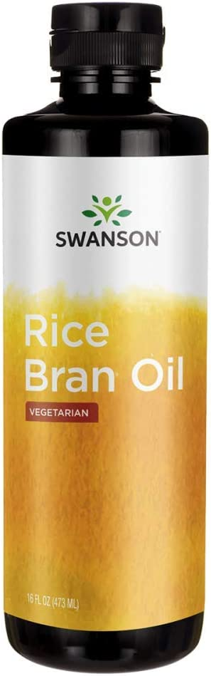 Swanson Rice Bran Oil 16 fl Ounce (473 ml) Liquid