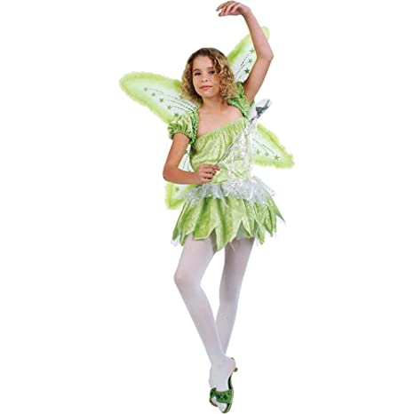 Kidu0027s Pixie Tinkerbell Halloween Costume (Size Large ...  sc 1 st  Amazon.com & Amazon.com: Kidu0027s Pixie Tinkerbell Halloween Costume (Size: Large 12 ...