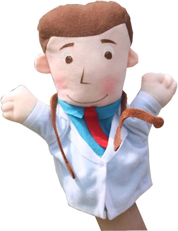 Black Temptation [médico] Personaje Marioneta de Mano Juguete para niños Juegos de rol