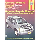General Motors Chevrolet Equinox & Pontiac Torrent Automotive Repair Manual: Written by Tim Imhoff, 2009 Edition, Publisher: Haynes Publishing [Paperback]