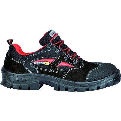 Cofra Wanen ESD S1P SRC Sicherheit Schuhe Schwarz Größe 45