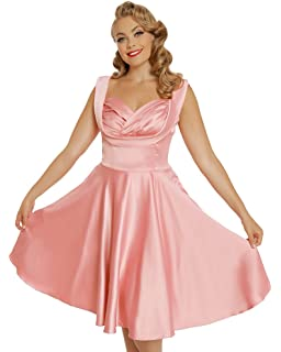 Lindy Bop Terri Lou Pink Party Dress