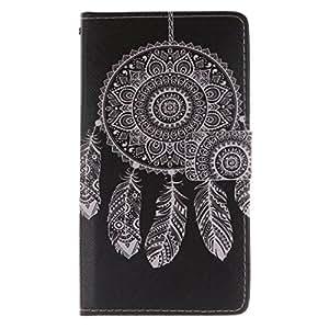 cowx funda de piel para Sony Xperia T3/M50W/D5103/D5106/D5102Carcasa bolsillos rígida Funda Estilo Flip Wallet Case Piel Carcasa Para Sony Xperia T3(con 1x paño de limpieza