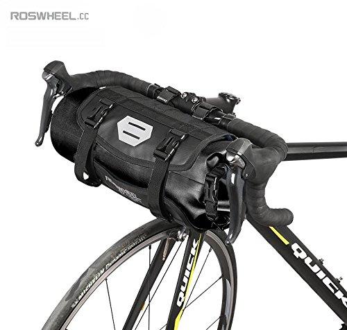 Jhua Bolsas para Manillar de Bicicleta MTB, Bolsas extraíbles de Alta Capacidad 3-7 l, en Color Azul Bolsas extraíbles de Alta Capacidad 3-7 l 111369