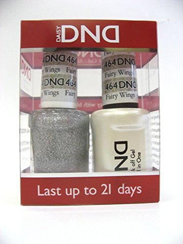 DND Gel & Matching Polish Set #464 - Fairy Wings. Buy 5 any colors get 1 Diamond super fast drying top coat 0.5 oz Free by DND Gel