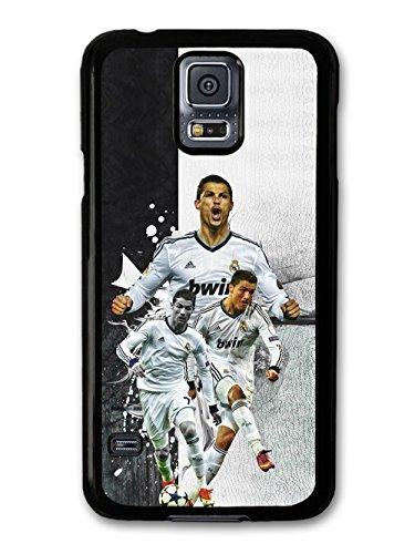 Cristiano Ronaldo Collage Football coque pour Samsung Galaxy S5