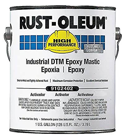 Rust Oleum Immersion Epoxy Coating Activator Size 1 Gal