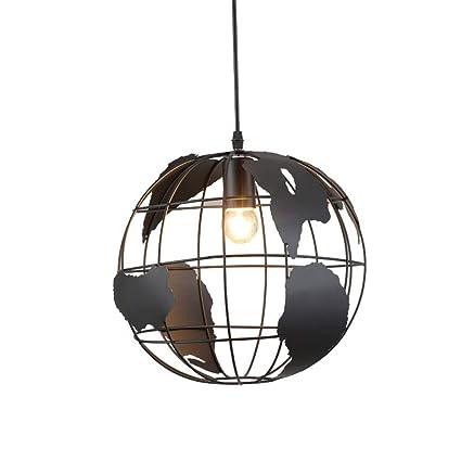 SGWH ® Lámparas de araña de Metal Vintage, linternas ...
