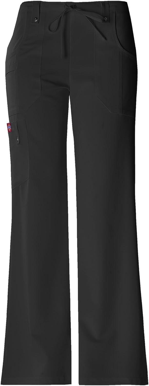 Dickies Women's Xtreme Stretch Fit Drawstring Flare Leg Pant