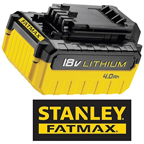 3 opinioni per Stanley Fatmax Fmc688L- Batteria Litio 18V 4.0 Ah